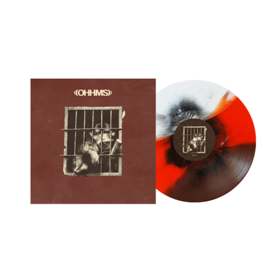 "Exist 12"" Vinyl (Red/Brown/White w/ Black)"