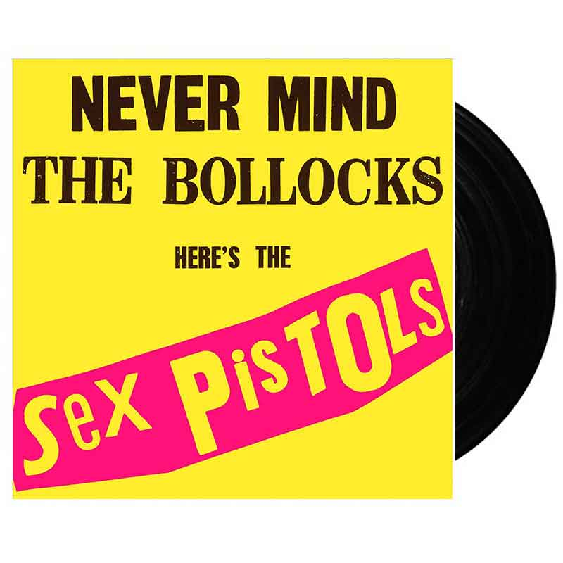 "Nevermind The Bollocks, Here's The Sex Pistols (12"" Vinyl)"