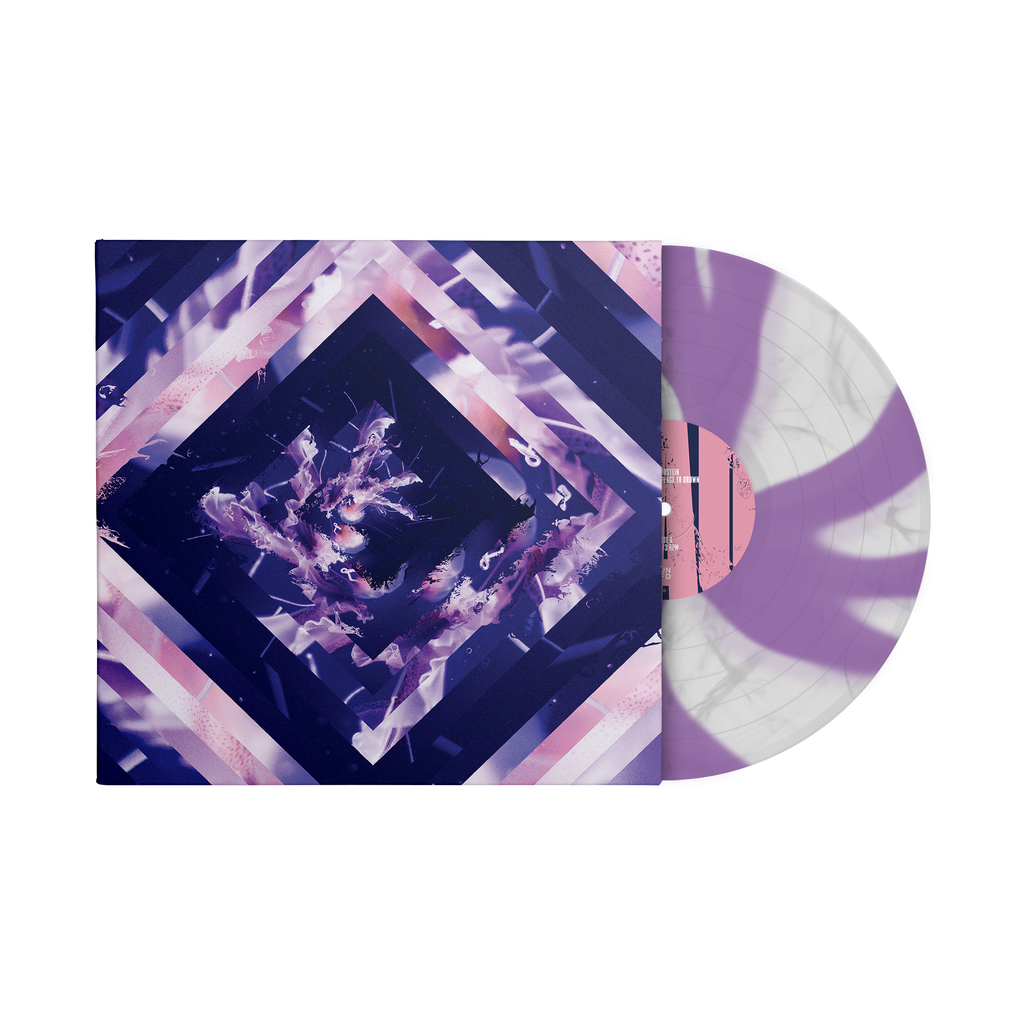 "A Beautiful Place To Drown 12"" Vinyl (Cloudy Clear/Purple Cornetto) // PREORDER"