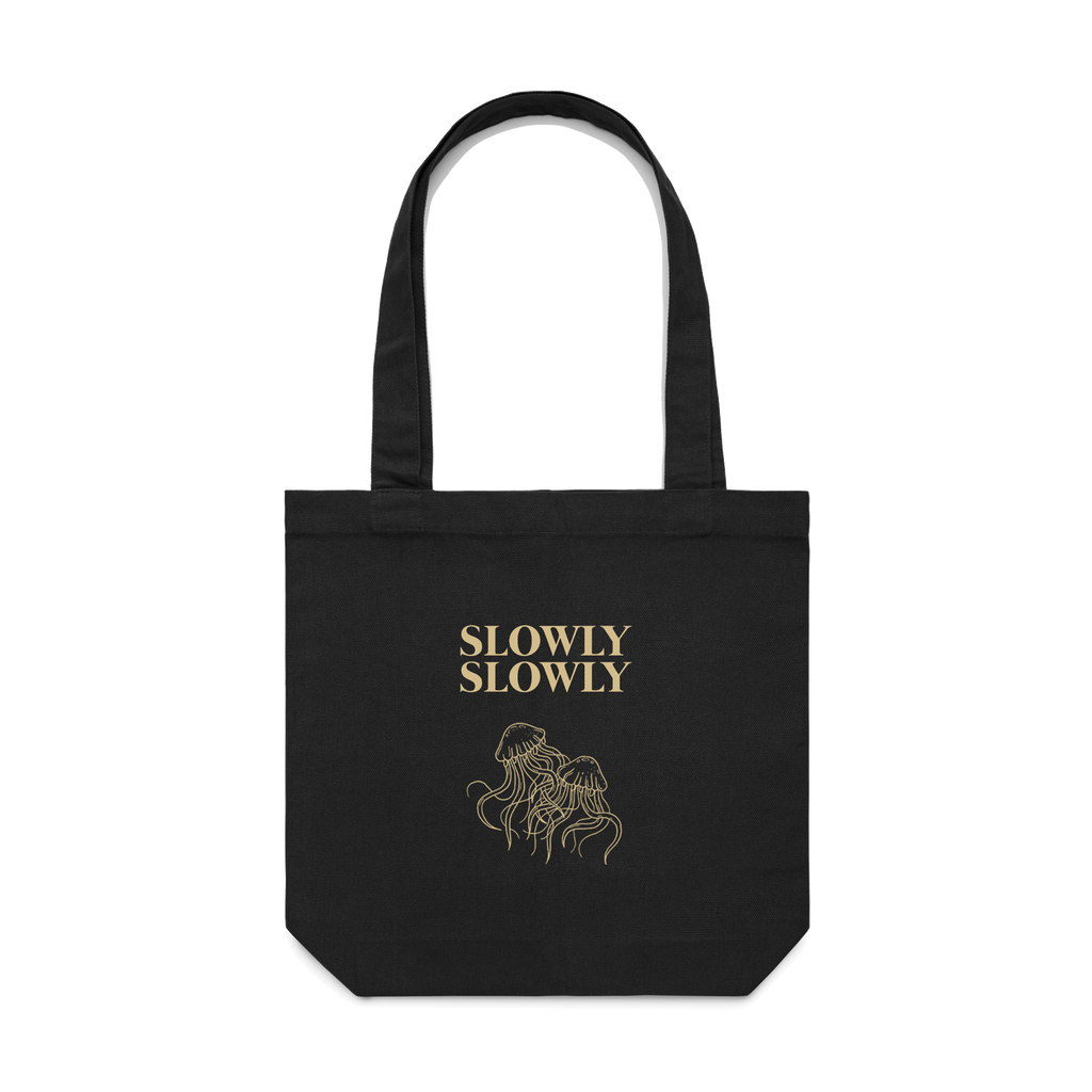 Jellyfish Tote Bag (Black)