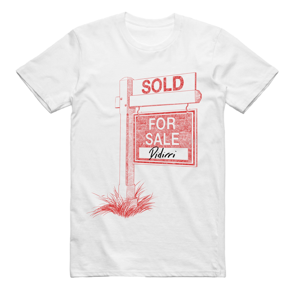 Sold for Sale Tee (White) + EP Digital Download