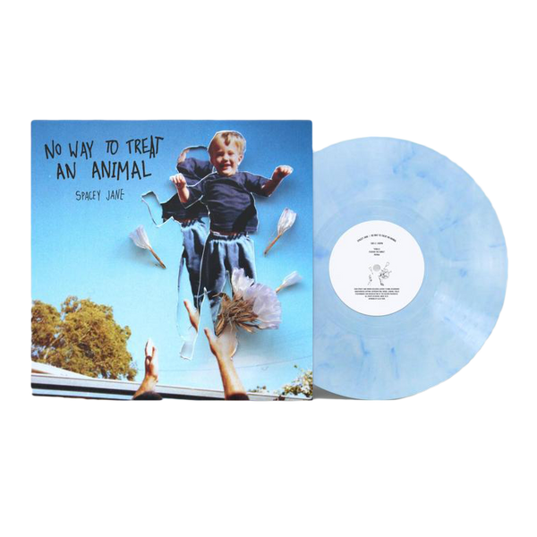 "No Way To Treat An Animal 10"" Vinyl (Limited Edition Blue/White Marble)"