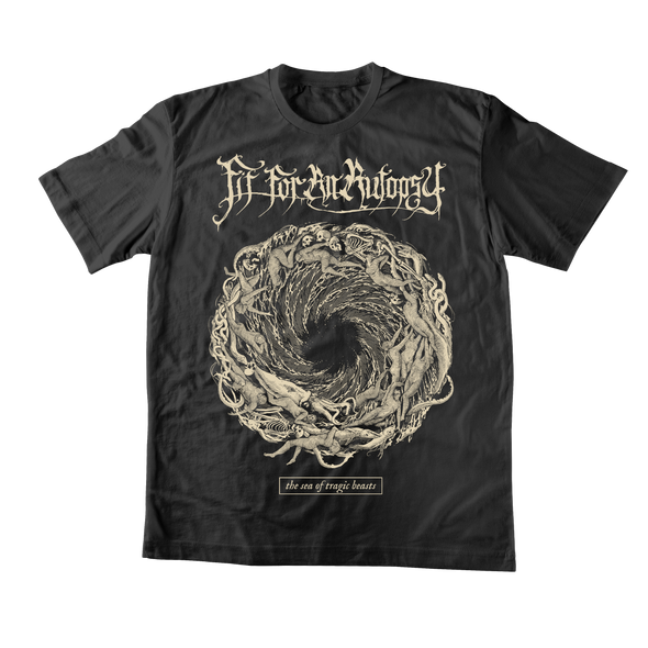 The Sea Of Tragic Beasts Spiral Tee + Digital Download - Bundle 2 // PREORDER