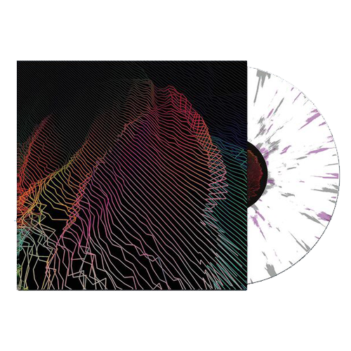 "Rare 12"" Vinyl (White w/ Purple + Grey Splatter)"