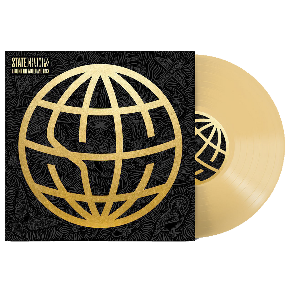 "Around The World And Back 12"" Vinyl (Gold)"