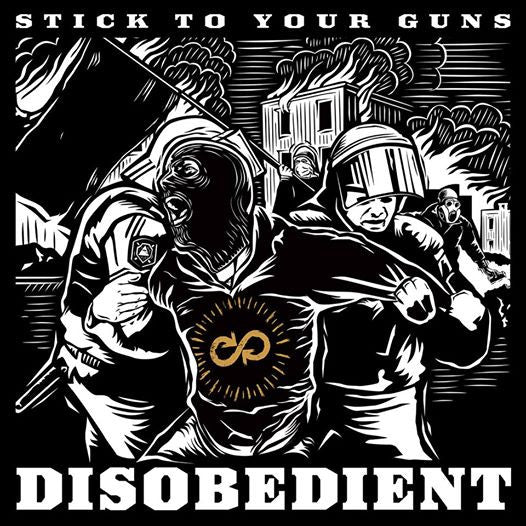 Stick To Your Guns Official Merch - Disobedient (CD)