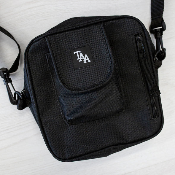 TAA Logo Shoulder Bag (Black)