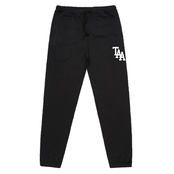 TAA Logo Trackpants (Black)