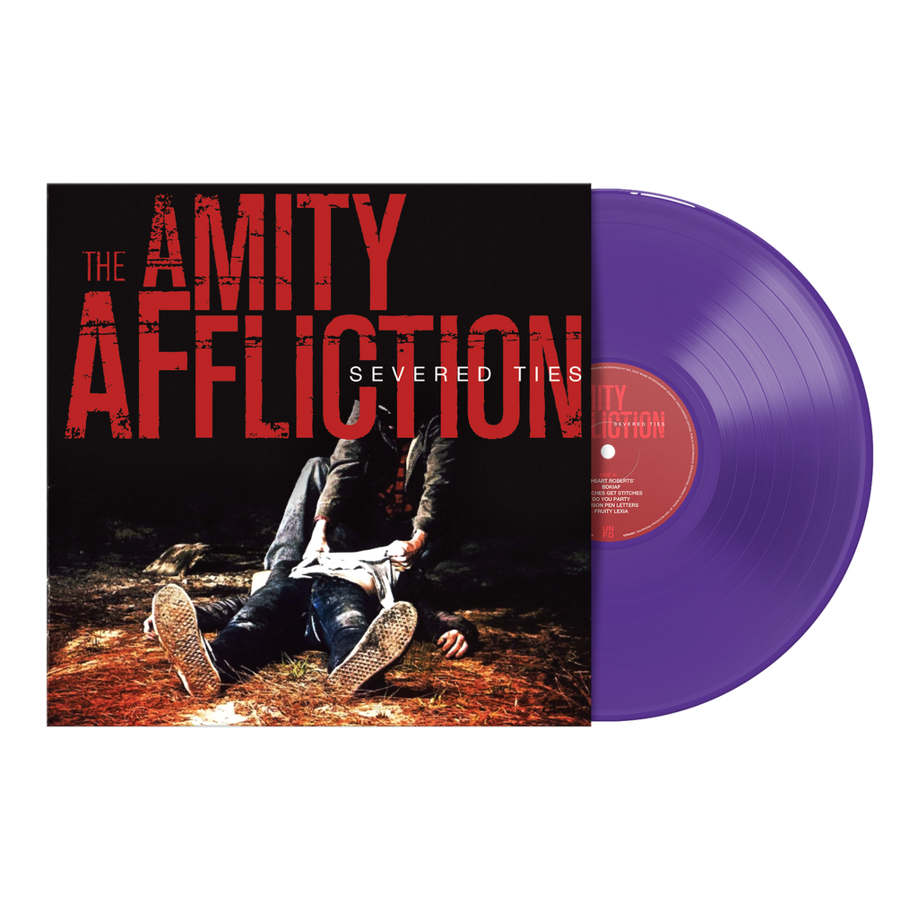 "Severed Ties 12"" Vinyl (Transparent Purple) // PREORDER"