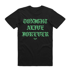 Forever Tee (Black) // Preorder