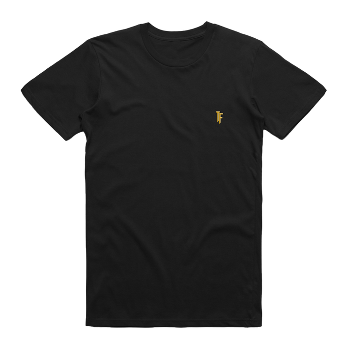 TF Embroidered Tee (Black)