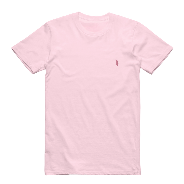 TF Embroidered Tee (Pink)
