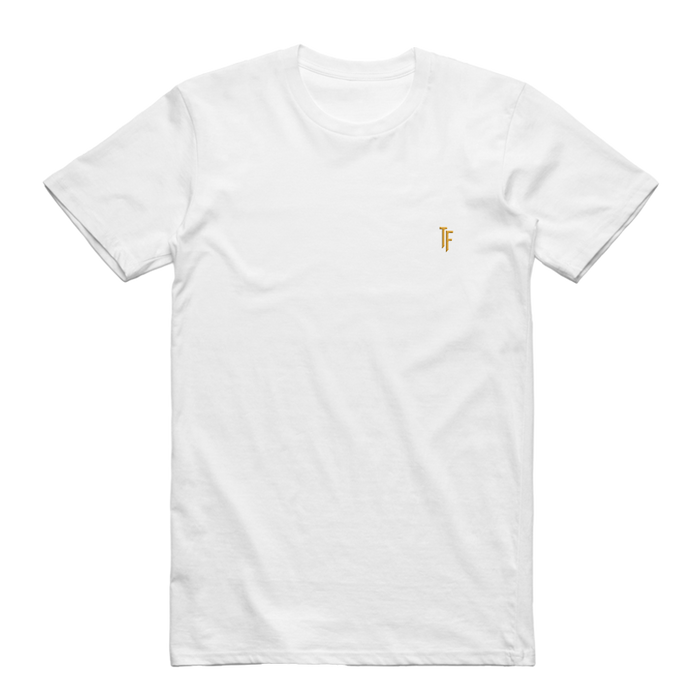 TF Embroidered Tee (White)