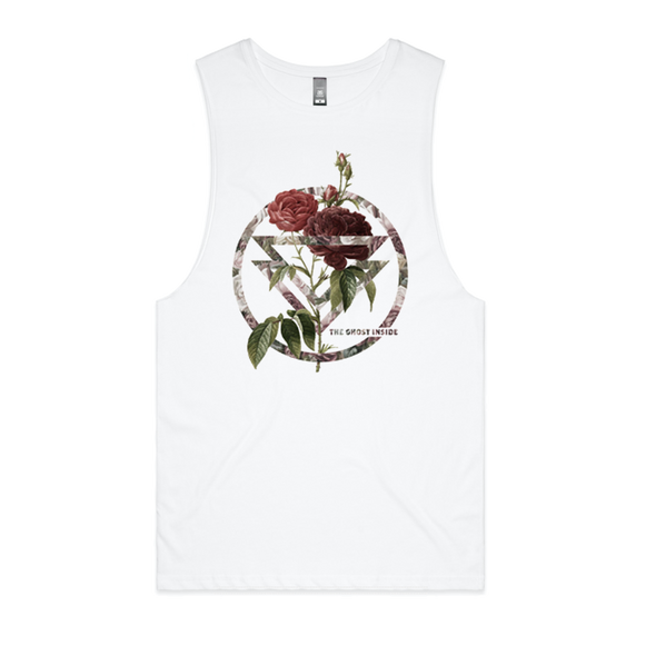 Rose Sleeveless (White)