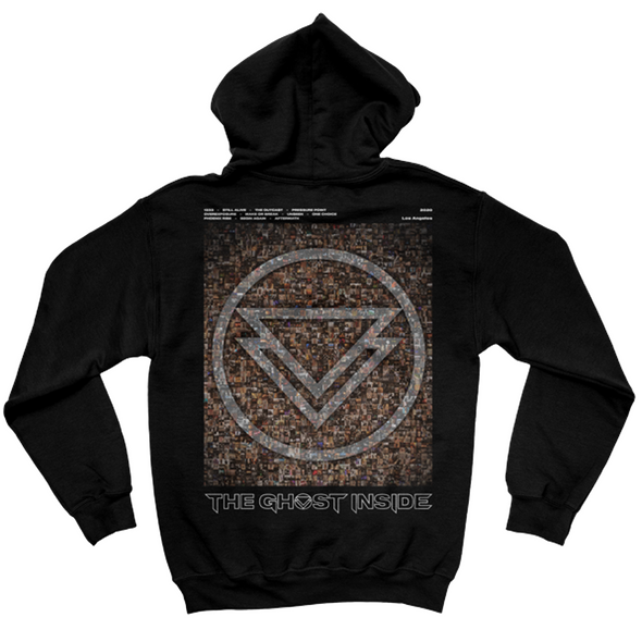 The Ghost Inside Album Hoodie (Black) // PREORDER