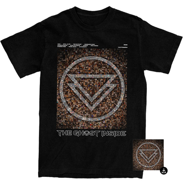 The Ghost Inside Album Tee + Digital Album Bundle // PREORDER