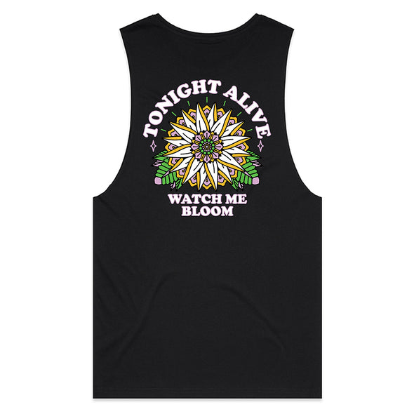Sunflower Tank (Black)