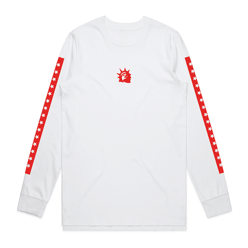 Liberty Head Longsleeve (White)