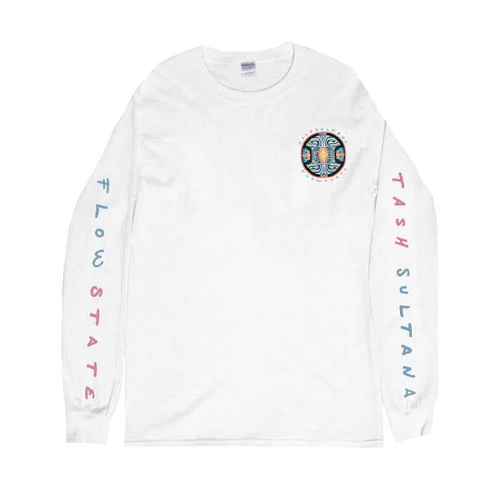 Flow State Long Sleeve (White) + Digital Download