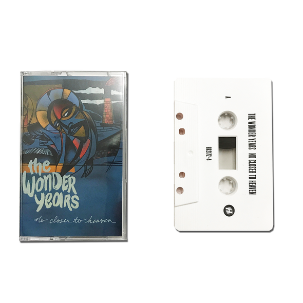 The Wonder Years Official Merch - No Closer To Heaven (Cassette)