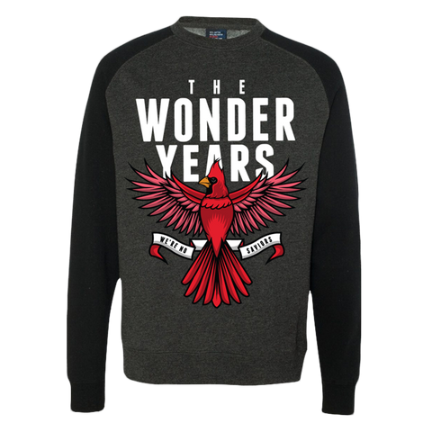 The Wonder Years Official Merch - We're No Saviours Crewneck (Black)