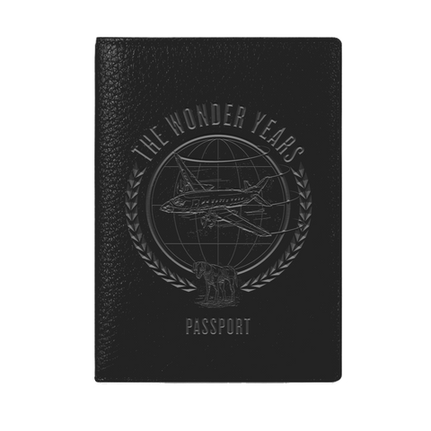 The Wonder Years MERCH Sister Cities Passport Book