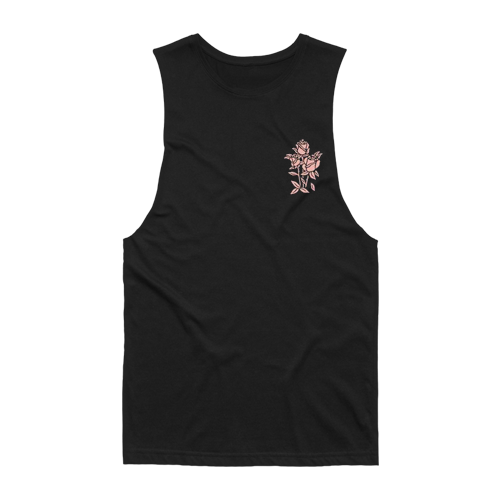 The Amity Affliction merch Bouquet Sleeveless (Black)