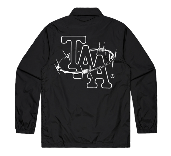 Barbed Wire Coach Jacket (Black)