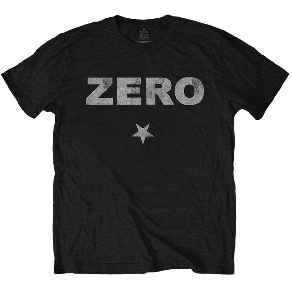 Zero Distressed Print Tee (Black)