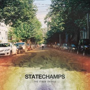 "State Champs Official Merch - The Finer Things 12"" VInyl (Electric Blue)"