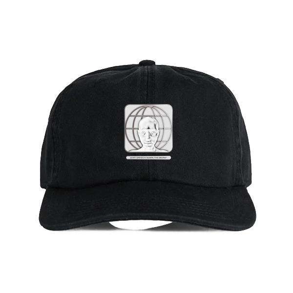 The Dark Pool Cap (Black)