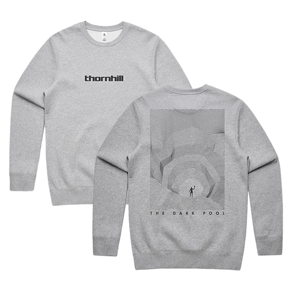 The Dark Pool Crewneck (Grey Marle)
