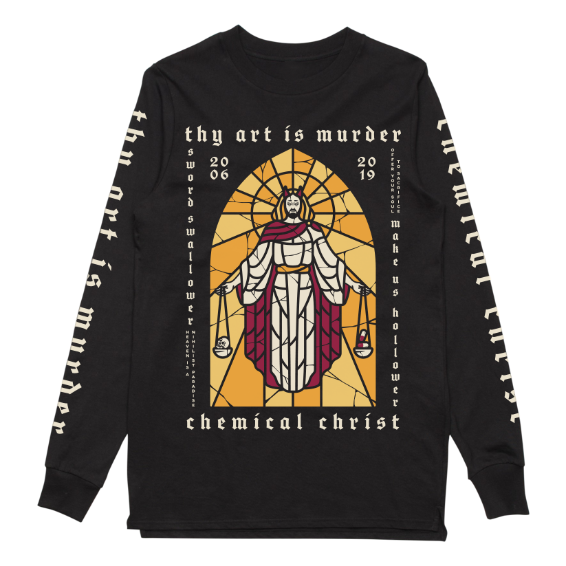 Chemical Christ Longsleeve (Black) + Digital Download // PREORDER
