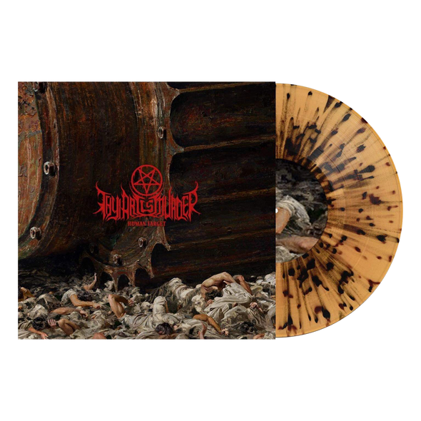 "Human Target 12"" Vinyl (Transparent Beer with Black Splatter Vinyl)  // PREORDER"