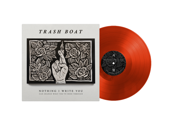 "Nothing I Write You 12"" Vinyl (Red/Orange)"