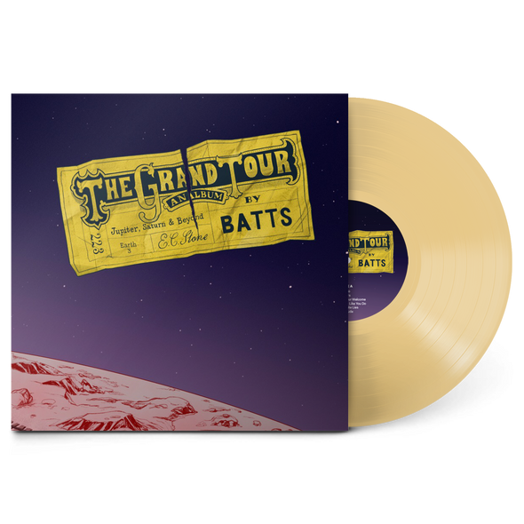 "The Grand Tour 12"" Vinyl (Transparent Gold)"