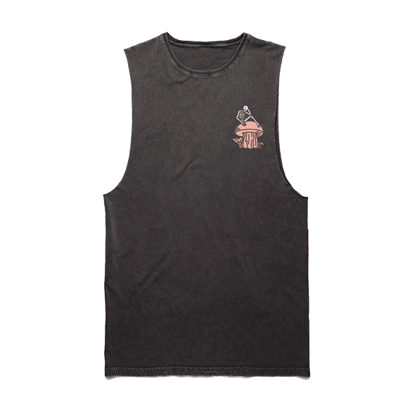 Mushroom Sleeveless (Acid Wash)