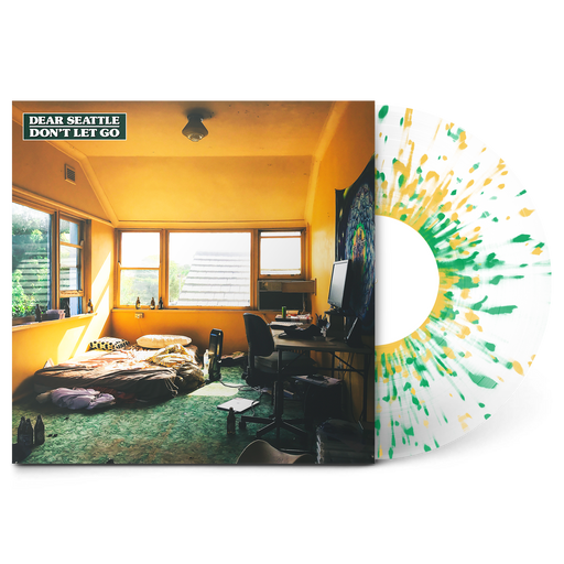 "Don't Let Go 12"" Vinyl (Frosted Clear w/ Green & Mustard Splatter) // PREORDER"