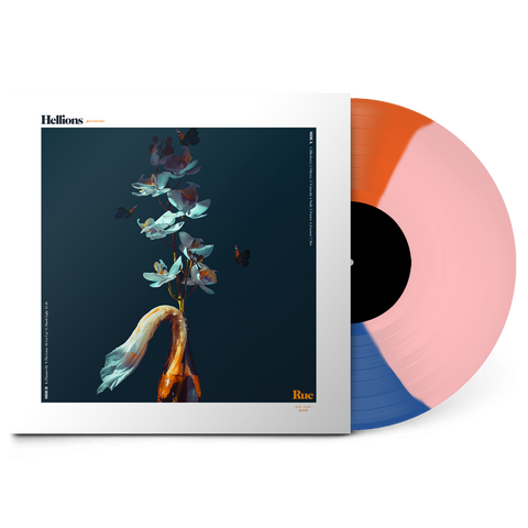 "Rue 12"" Vinyl (3-Colour Segment Blue/Orange/Pink)"
