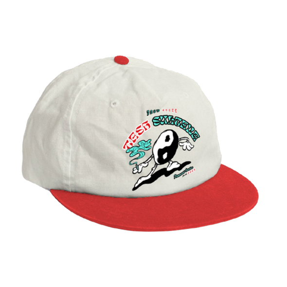 Yin Yang Man Hat (Red)