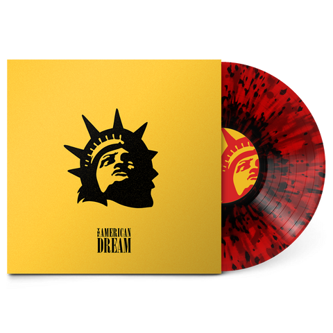 "The American Dream 12"" Vinyl (White inside Red with Black Splatter - Aus Exclusive) // Preorder"