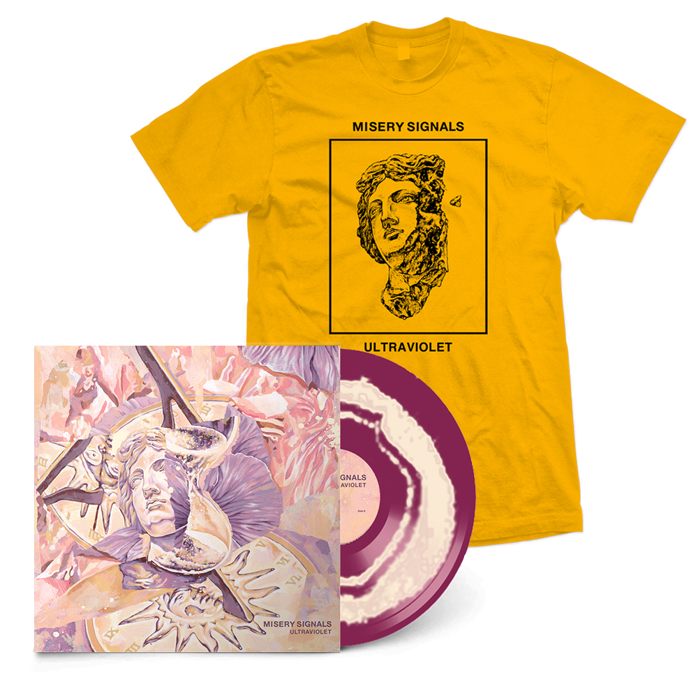 "Ultraviolet 12"" Vinyl + Yellow Tee Bundle // PREORDER"