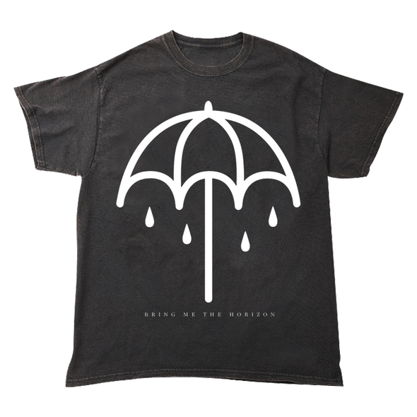 Umbrella Tee (Black Vintage Wash)