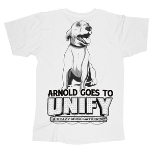 Event Official Merch - Arnold Tee (White)