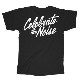Event Official Merch - Celebrate The Noise Tee (Black)