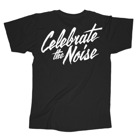 Celebrate The Noise Tee (Black)