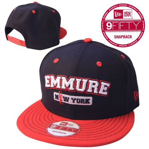 Emmure Official Merch - New York (Red/Black New Era Snapback)