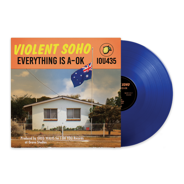 "Everything Is A-OK 12"" Vinyl (Blue)"