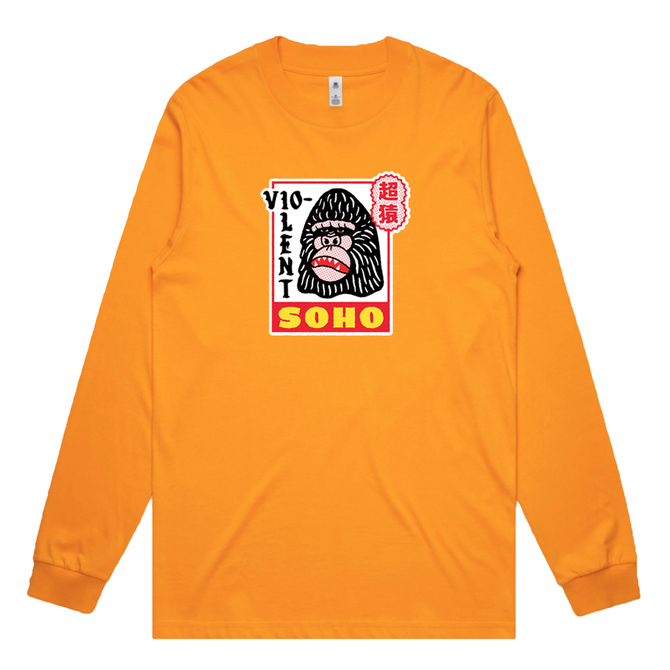 Super Ape Longsleeve (Gold)