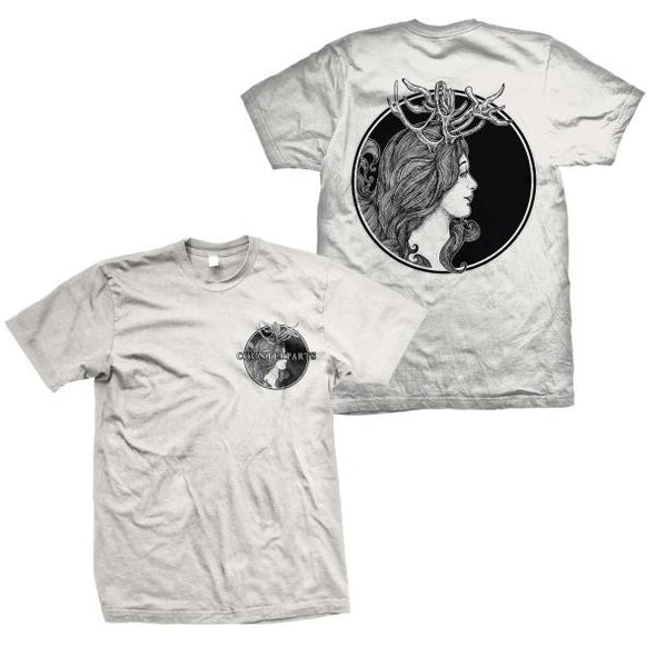 Counterparts Official Merch - Antlers (Off White Tee)